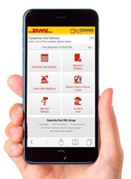 DHL Express On-Demand Delivery - Krok 2