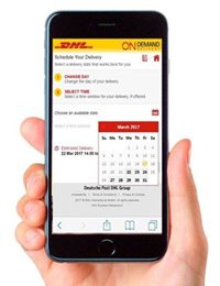 DHL Express On-Demand Delivery - Krok 3